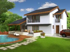 Proiect Vila Lotus - suprafata: 234 mp - Proiecte vile
