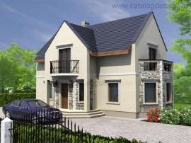 case mici, proiecte de case cu mansarda sau etaj - modele case mici si