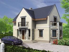 Proiect Vila Geneva - suprafata: 165 mp - Proiecte vile