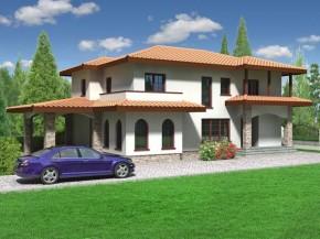 Proiect Vila Valencia - suprafata: 274 mp - Proiecte vile