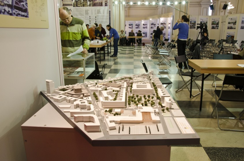 Inainte de conferinta de presa In prim plan proiect de regenerare urbana pentru zona pietei Matache