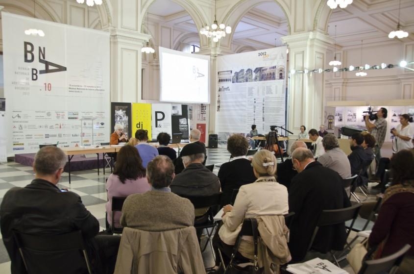 Conferinta de presa - Conferinta de presa, spatiul de expozitie din MNIR si festivitatea de premiere