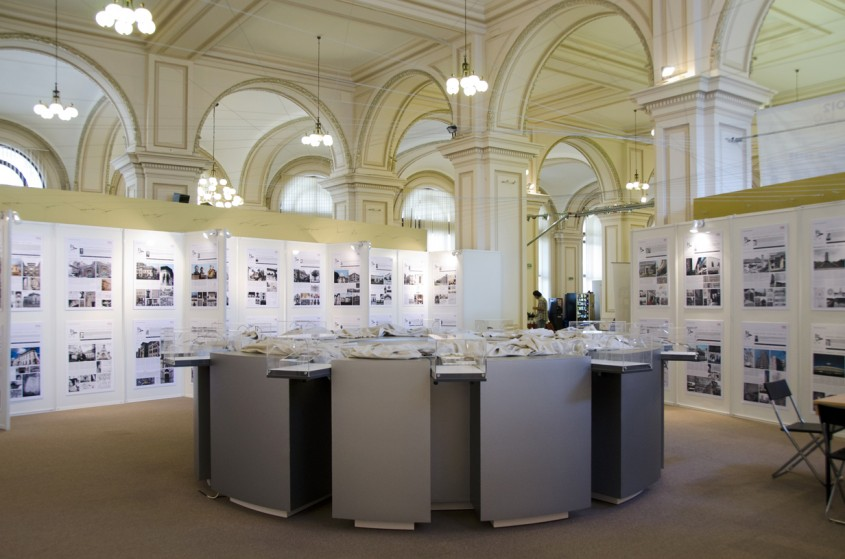 Spatiul de expozitie din cadrul MNIR - Conferinta de presa spatiul de expozitie din MNIR si
