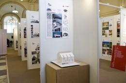 Spatiul de expozitie din cadrul MNIR. Locuinta unifamiliala - Conferinta de presa, spatiul de expozitie din MNIR si festivitatea de premiere