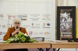 Conferinta de presa. Comisar prof. dr. arh. Cristina Olga Gociman - Conferinta de presa, spatiul de expozitie din MNIR si festivitatea de premiere