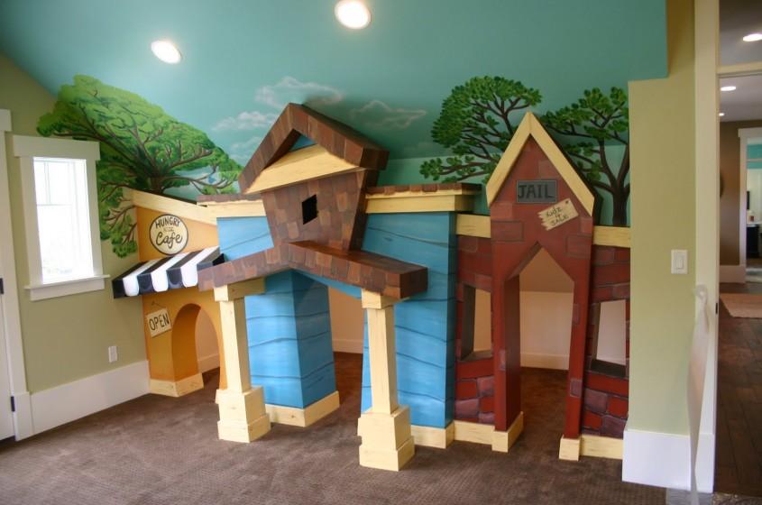 httpwww utahnewhomeblog com - Pictura murala autocolantele sau accesoriile suspendate de tavan creeaza o atmosfera specifica