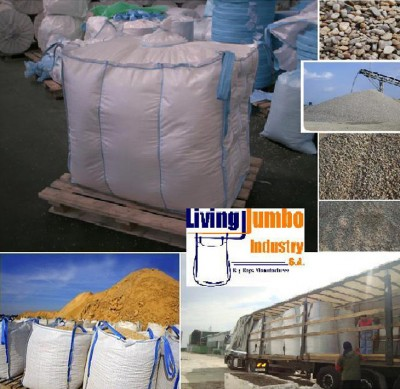 Big bags ciment nisip pietris var - Saci PP