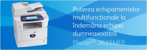 Multifunctional Phaser 3635MFP - Multifunctionale alb-negru peste 20 ppm - XEROX