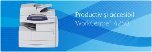 Multifunctional WorkCentre 4250 - Multifunctionale alb-negru peste 20 ppm - XEROX