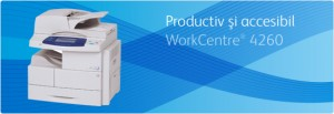 Multifunctional WorkCentre 4260 - Multifunctionale alb-negru peste 20 ppm - XEROX