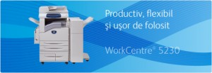 Multifunctional WorkCentre 5230 Copier - Multifunctionale alb-negru peste 20 ppm - XEROX