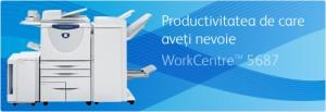 Multifunctional WorkCentre 5687 - Multifunctionale alb-negru peste 20 ppm - XEROX