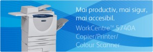 Multifunctional WorkCentre 5740A - Multifunctionale alb-negru peste 20 ppm - XEROX