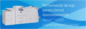 Multifunctional Xerox 4595 Copier - Multifunctionale alb-negru peste 20 ppm - XEROX
