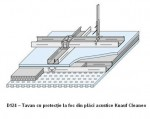 Placi Knauf Cleaneo D124 - Sisteme de tavane cu placi perforate acustice din gipscarton Cleaneo