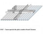 Placi Knauf Cleaneo D127 - Sisteme de tavane cu placi perforate acustice din gipscarton Cleaneo