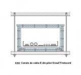 K262 - Canale de cablu E din placi Knauf Fireboard  - Canale de cabluri - Knauf Fireboard - K 26