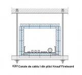 K261 - Canale de cablu I din placi Knauf Fireboard  - Canale de cabluri - Knauf Fireboard - K 26