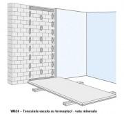 W624 - Tencuiala uscata cu termoplaci - vata minerala - Tencuieli uscate din placi de gipscarton