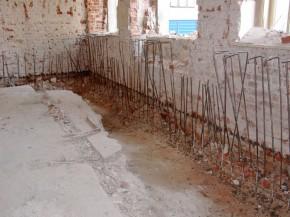 Gauri umplute cu mortar - Produse pentru combaterea igrasiei