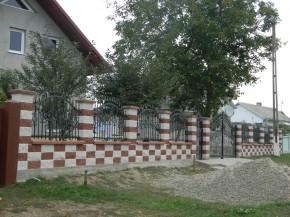 Gard Split rosu-alb - Gard Split