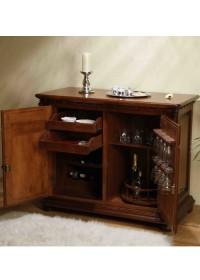 Comoda bar lemn masiv Venetia Lux - Mobila sufragerie lemn masiv Venetia lux
