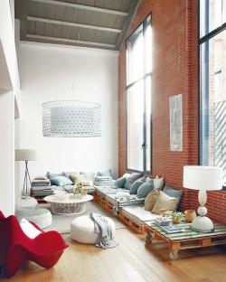 pallet-lounge - Canapele din paleti