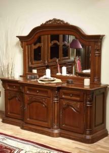 Bufet cu 3 usi lemn masiv Cristina - Mobila sufragerie lemn masiv Cristina