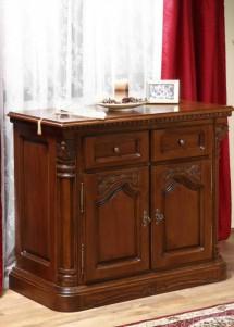 Comoda bar lemn masiv Cristina - Mobila sufragerie lemn masiv Cristina