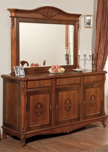 Rama oglinda lemn masiv Afrodita - Mobila sufragerie lemn masiv Afrodita