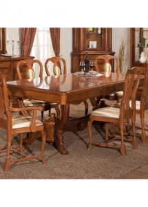Masa extensibila lemn masiv Afrodita - Mobila sufragerie lemn masiv Afrodita