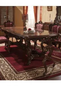 Masa extensibila lemn masiv Cleopatra Lux - Mobila sufragerie lemn masiv Cleopatra Lux
