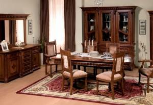 Garnitura sufragerie Venetia Lux - Mobila sufragerie lemn masiv Venetia lux