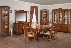 Sufrageria Contessa - Mobila sufragerie lemn masiv Afrodita