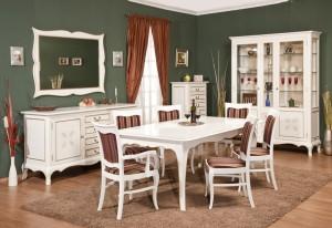 Mobilier sufragerie Cora - Mobila sufragerie lemn masiv Cora