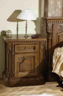 Noptiera lemn masiv Cristina - Mobila dormitor lemn masiv Cristina
