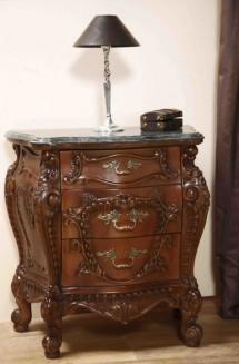 Noptiera lemn masiv Cleopatra Lux - Mobila dormitor lemn masiv Cleopatra Lux