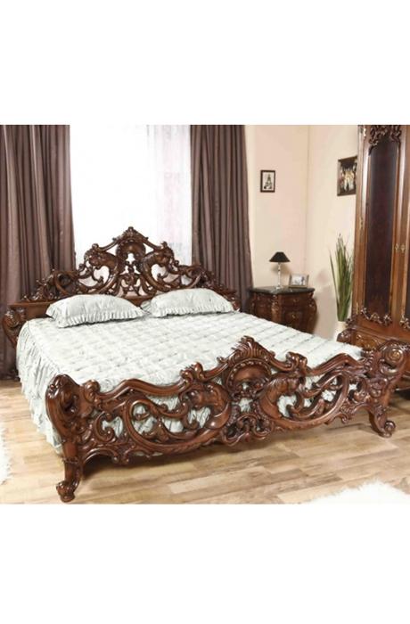 Prezentare produs mobila dormitor lemn masiv casa mobila for Canapele extensibile de o persoana