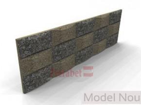 Panouri piatra spalata PPST H40-60 arcada - Componente gard spalat