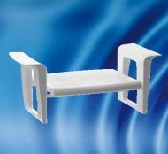 Scaun de dus din aluminiu pentru persoane cu handicap HH 601 SVA - Scaune dus din aluminiu persoane cu handicap