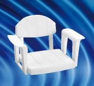 Scaun de dus din aluminiu pentru persoane cu handicap HH 604 SVAMSC - Scaune dus din aluminiu persoane cu handicap