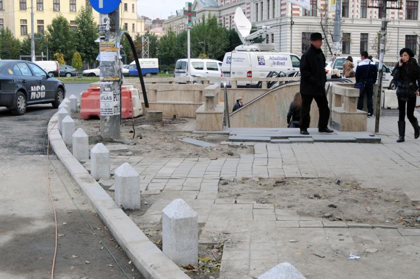 Piata Universitatii Bucuresti 15 noiembrie 2012 (foto Alina Miron) - Piata Universitatii tablou in tonuri de