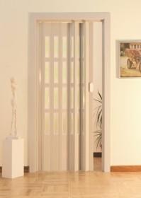 Usa plianta standard cu geamuri, deschidere laterala model EXTRA - Usi pliante
