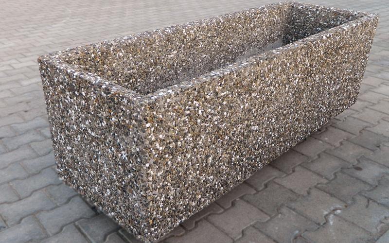 Jardiniere si ghivece decorative prefabet - Construire jardiniere beton ...