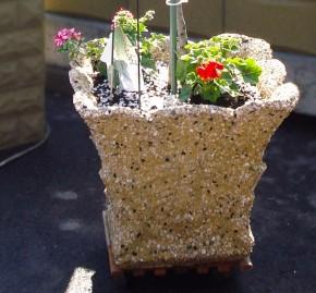 Jardiniera Cairo - Ghivece din beton