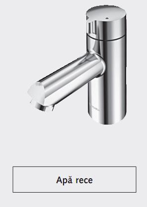 Baterie pentru apa rece SCHELL MODUS K - Baterii cu senzor electronic pentru lavoare - alimentate de la retea