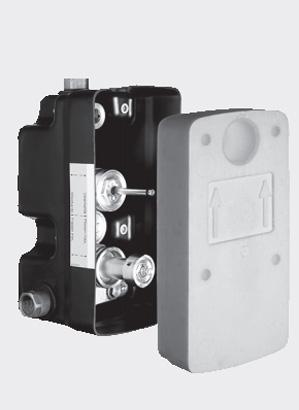 Doza masterbox pentru montare in perete SCHELL WBD-SC-T  - Baterii cu montare in perete pentru lavoare