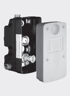 Doza masterbox pentru montare in perete SCHELL WBD-E-T - Baterii cu montare in perete pentru lavoare