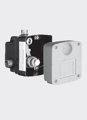 Doza masterbox pentru montare in perete SCHELL WBD-E-V - Baterii cu montare in perete pentru lavoare