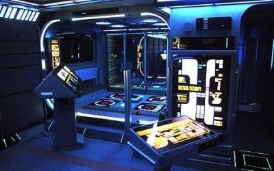 Idealul lui Tony Alleyne a fost sa-si decoreze casa ca pe Enterprise. Foto: Caters via Telegraph.co.uk - Idealul lui Tony Alleyne a fost sa-si decoreze casa ca pe Enterprise. Foto: Caters via Telegraph.co.uk